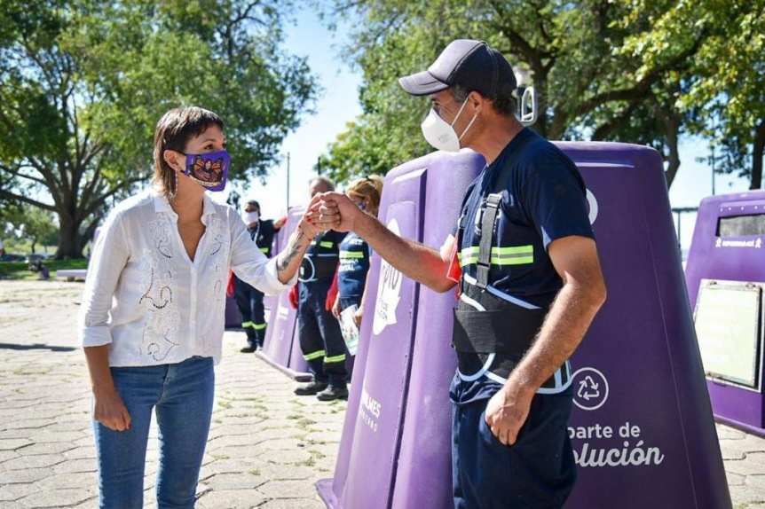 """Municipio y recicladores urbanos trabajarán en el programa """"Quilmes Recicla"""""""