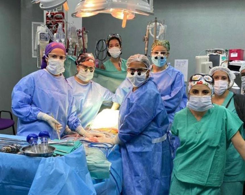 """El Cruce: Se distinguió al """"1º equipo de mujeres que realizó un trasplante hepático en la Argentina"""""""