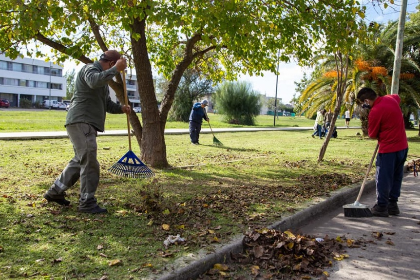 Siguen los operativos integrales de limpieza en toda la ciudad