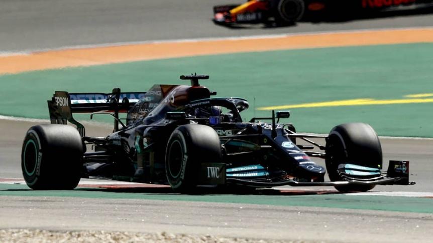 Hamilton consigui� en Portugal su segunda victoria del a�o
