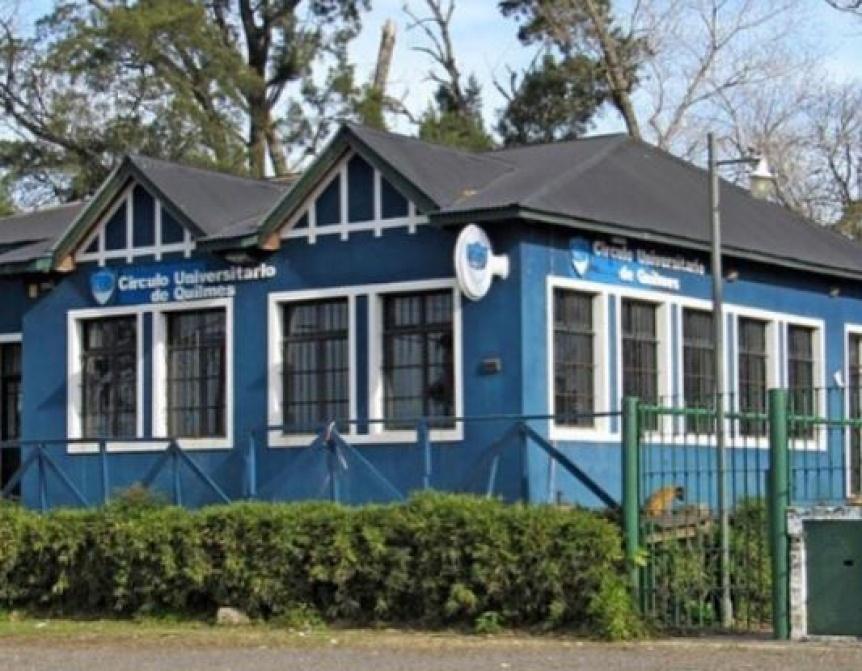 Se robaron los inodoros del Círculo Universitario Quilmes