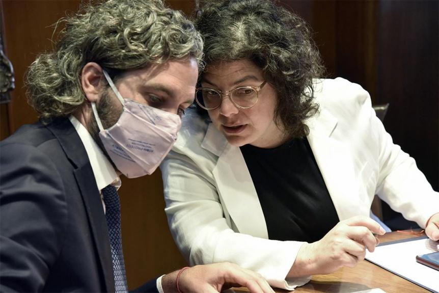 Reuni�n de Cafiero y Vizzotti con expertos de Israel por la producci�n local de la vacuna Brilife