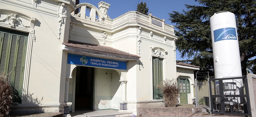 El Hospital Burgwardt funciona como centro de atenci�n m�dica de Covid-19 en Brown