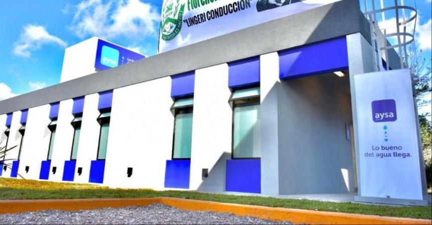 Inauguraron instalaciones del Rebombeo El Cruce en Florencio Varela