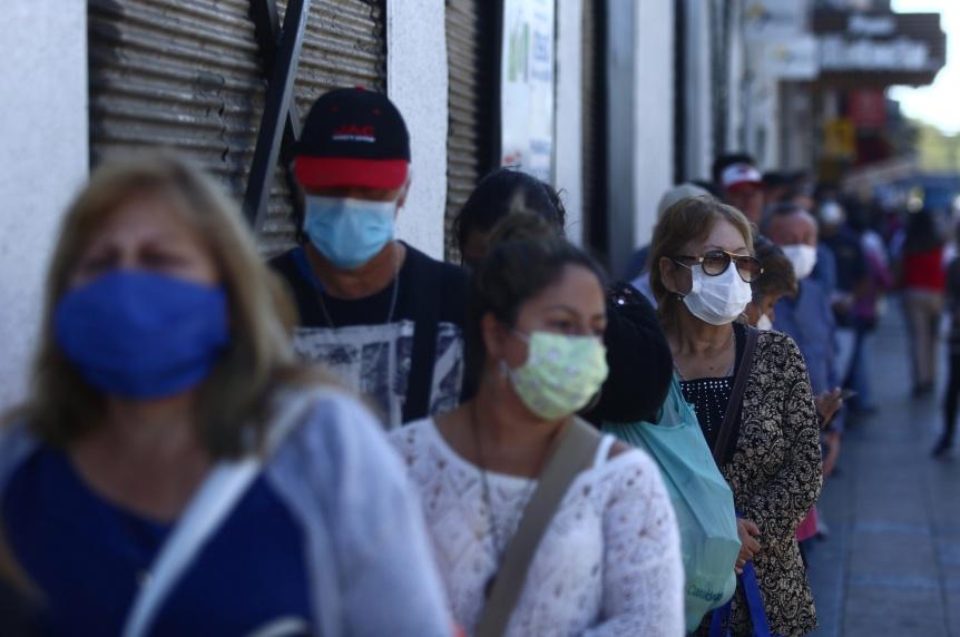 Coronavirus: 641 fallecidos y 35.355 nuevos casos en el pa�s