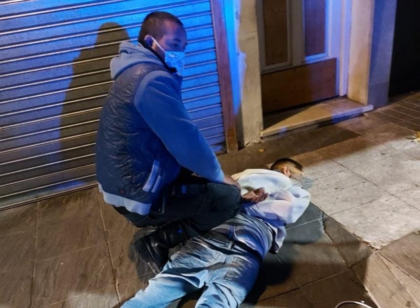 Un detenido tras accionar de la Patrulla Urbana Quilmes