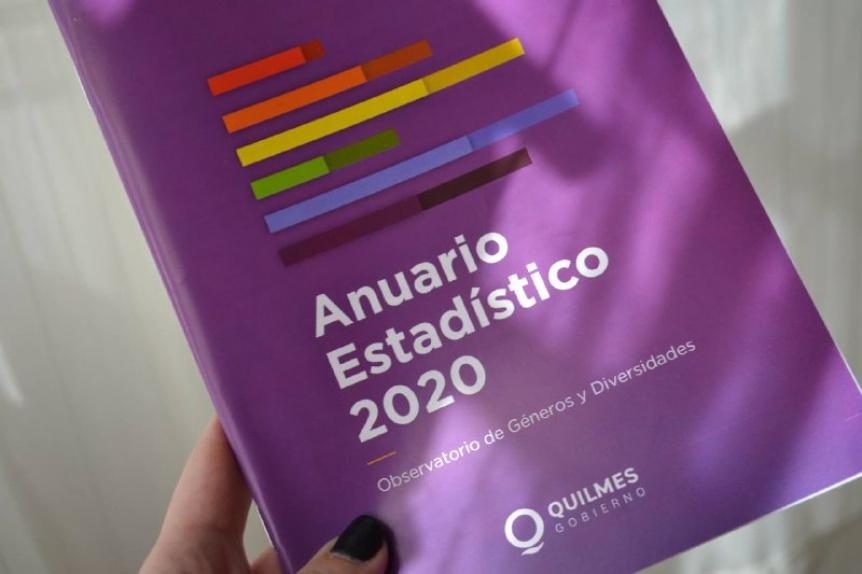 El Municipio de Quilmes presentó en el anuario estadístico de mujeres y diversidades 2020