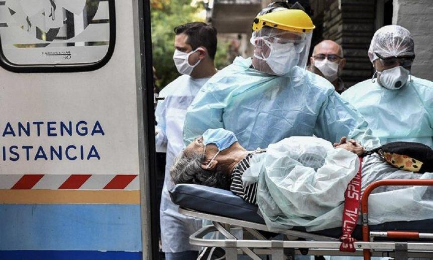 Confirmaron 689 muertes y 26.934 contagios en las últimas 24 horas