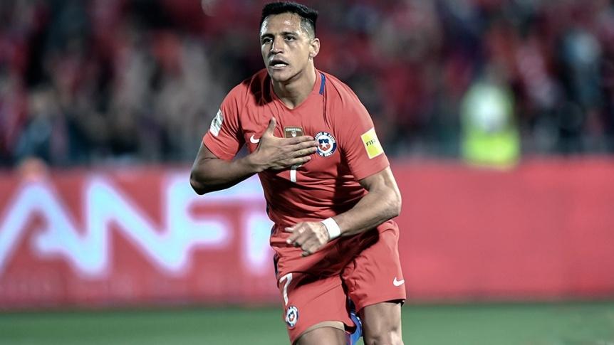 Alexis S�nchez ser� baja en Chile para el debut ante Argentina