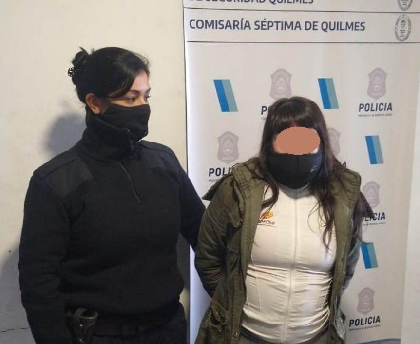 Aprehenden a una mujer en Bernal por un homicidio ocurrido en Villa Gesell