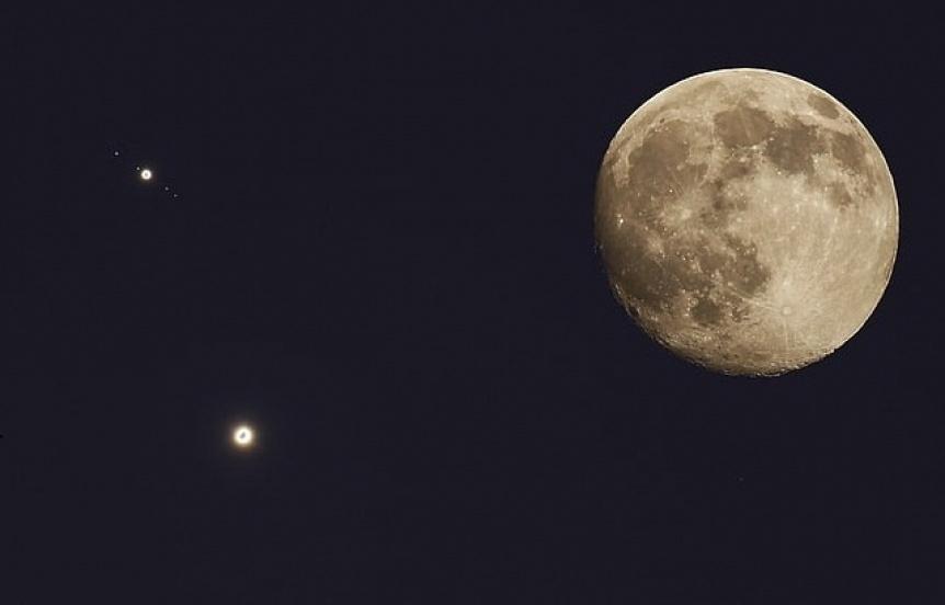 Habr� 5 imperdibles conjunciones astron�micas para disfrutar a simple vista