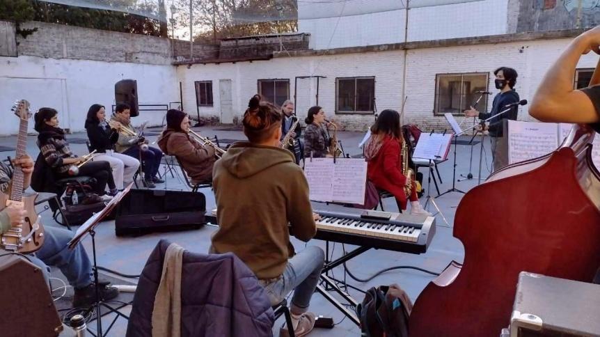 """""""Del Mitre Jazz Band"""" tocará en la plaza Aristóbulo Del Valle"""