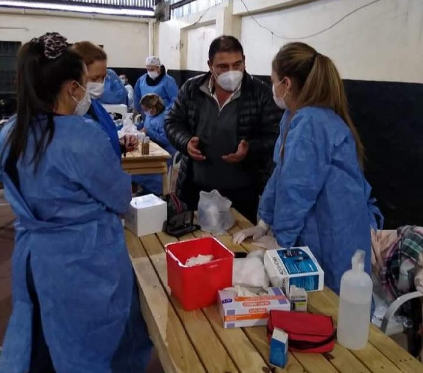 Florencio Varela realizó una jornada de Salud en Villa Arias