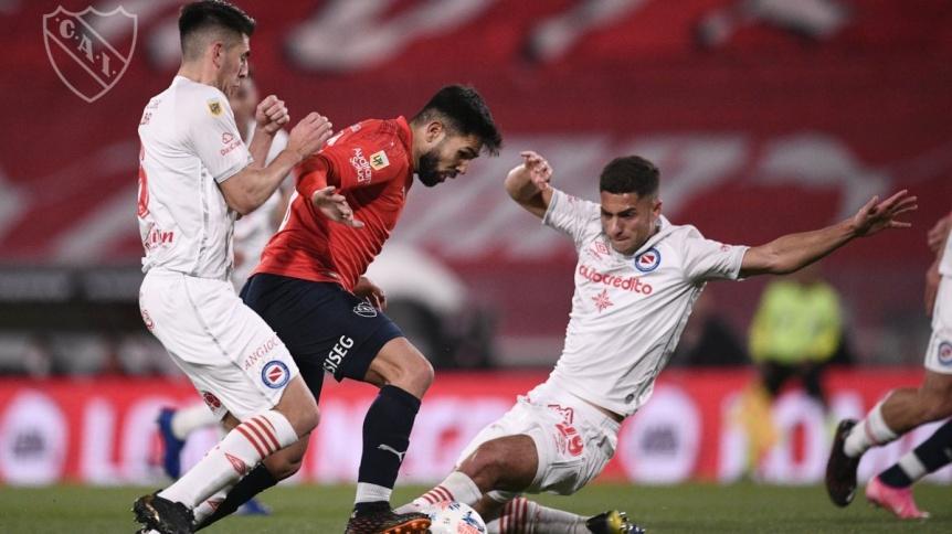 Argentinos, con equipo alternativo, igual� con Independiente