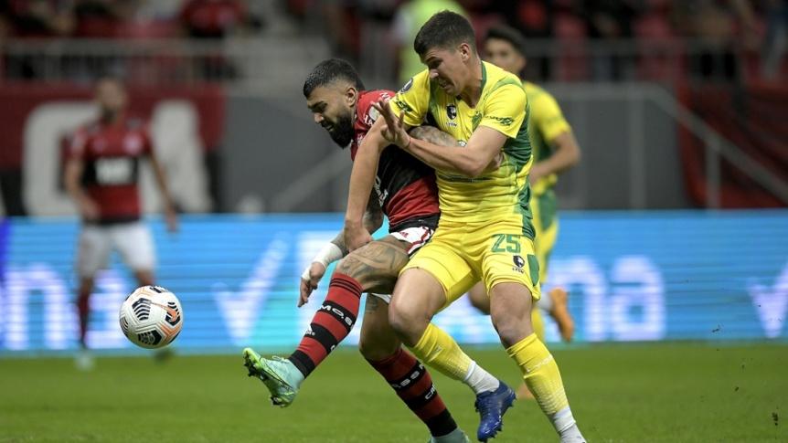 Defensa y Justicia no pudo con Flamengo y qued� afuera
