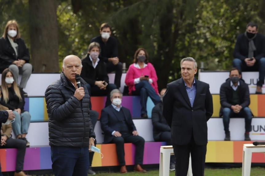 Néstor Grindetti es el jefe de campaña de Diego Santilli