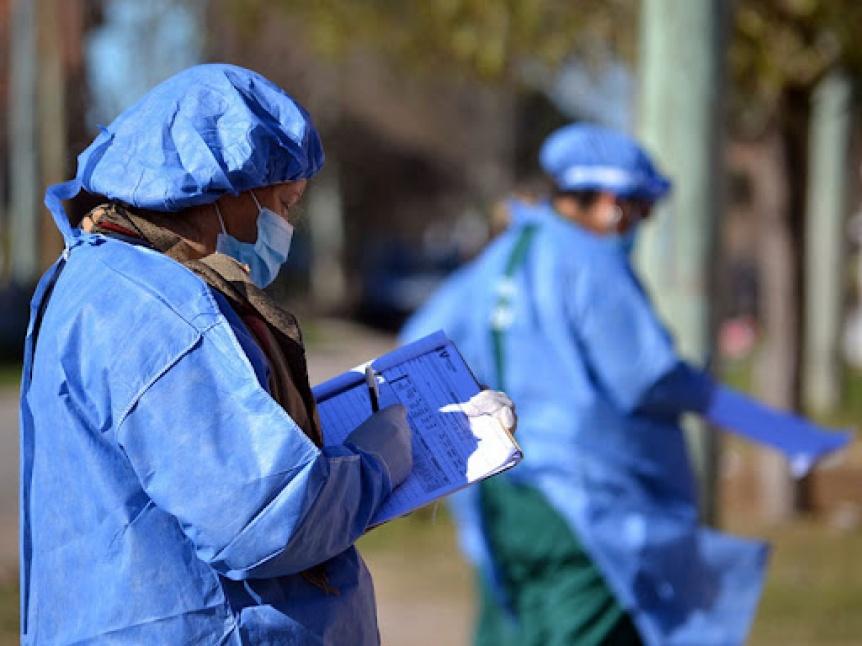 El Municipio de Florencio Varela realiza una jornada  de salud en La Esmeralda