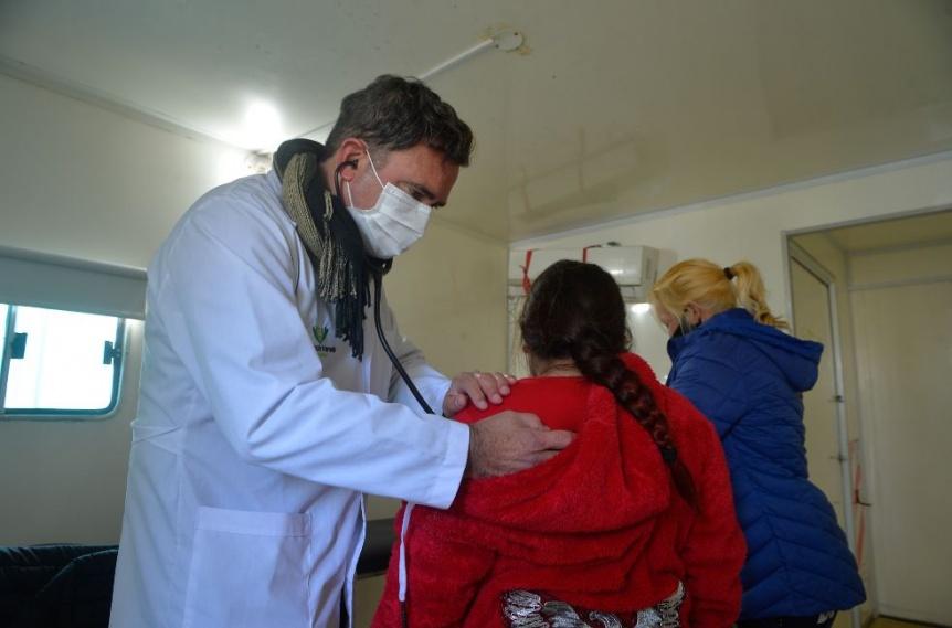 Florencio Varela: Operativo sanitario integral en el barrio La Esmeralda