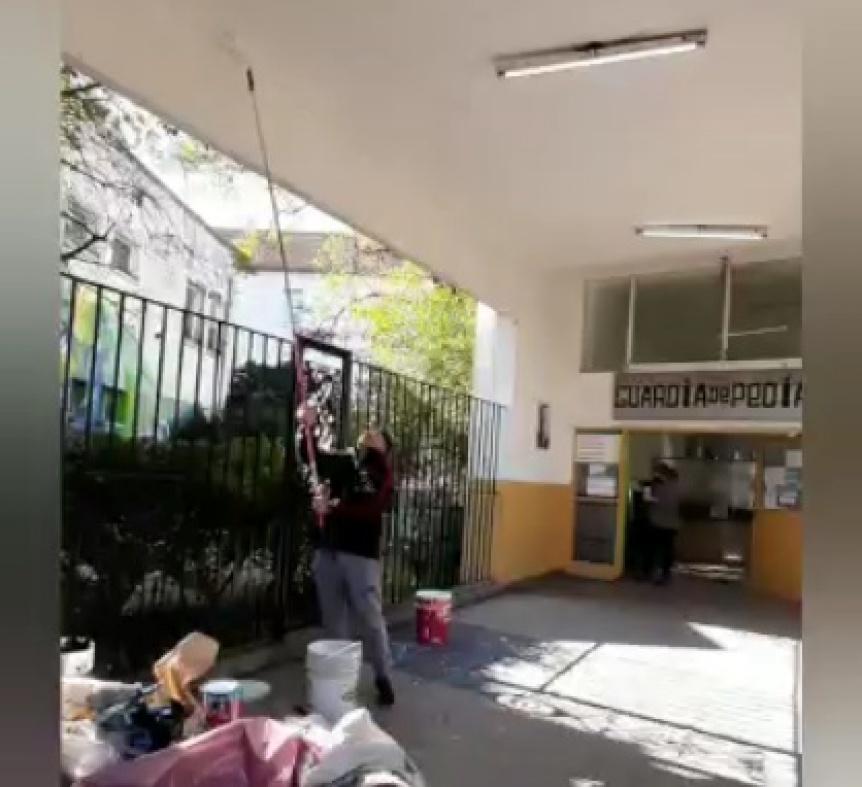 Convocan a voluntarios para pintar el Hospital de Quilmes