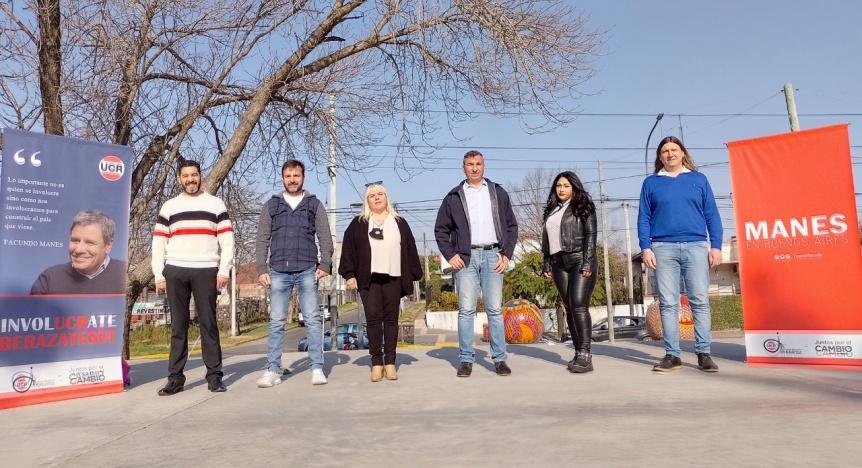 Se present� la lista de Manes en Berazategui