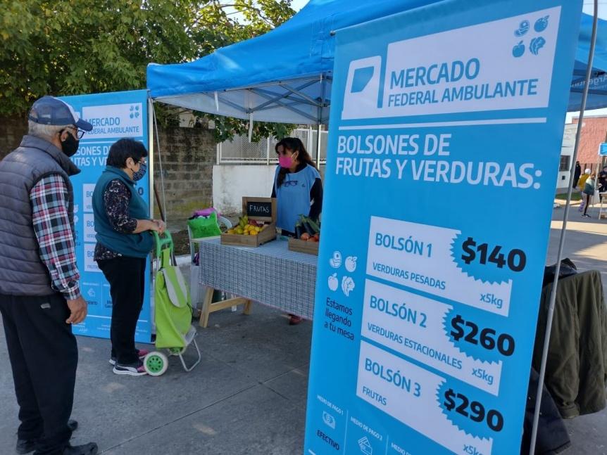 Se viene una nueva edici�n del Mercado Federal Ambulante