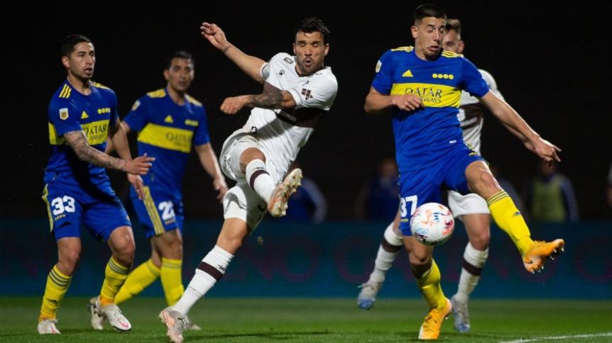 Boca venci� a Platense y sum� su segundo triunfo en el torneo