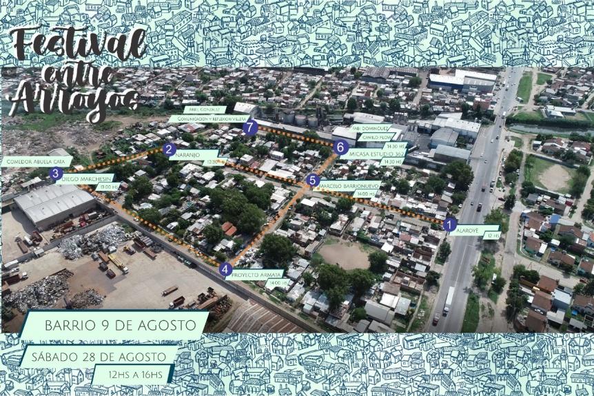 Barrios de Quilmes Oeste invitan al Festival entre Arroyos