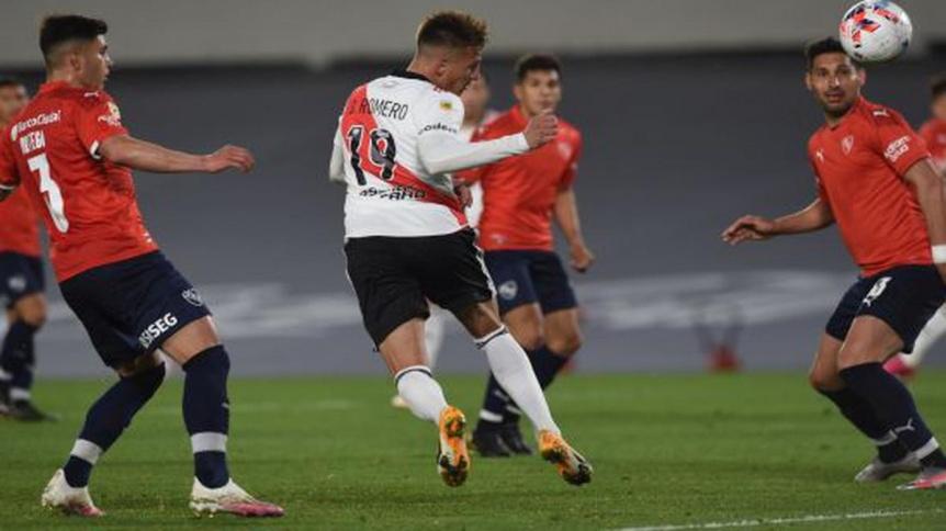 River e Independiente repartieron puntos en el cl�sico de la fecha