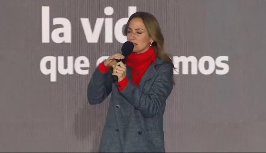 """Victoria Tolosa Paz: """"No podemos transformar Quilmes si no transformamos el país"""""""