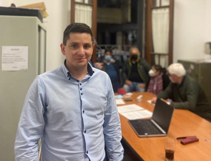 Juntos Quilmes: Fernando P�rez reconoci� el triunfo de la lista de Ignacio Chiodo