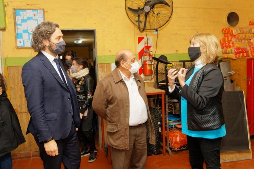 """Mussi y Cafiero presentaron el proyecto de ley de crianza con ternura y buen trato """"Ana Goitia"""""""