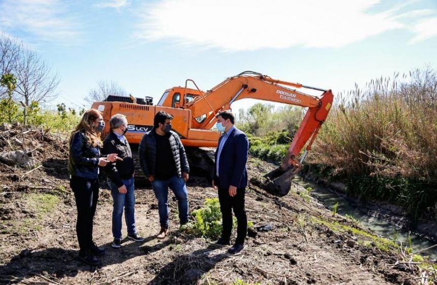 Firmaron convenio en Avellaneda con ACUMAR y Naci�n para potenciar el Camino de la Ribera