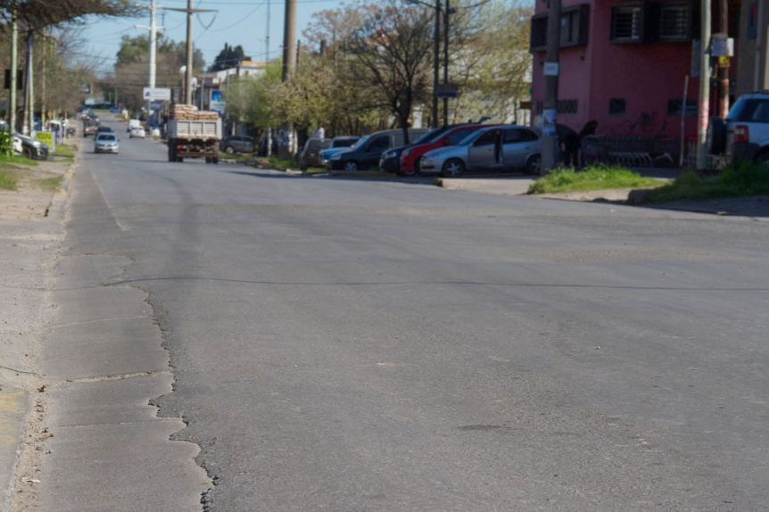 Repavimentar�n la avenida 413 entre la Rotonda de Guti�rrez y Cno. Gral. Belgrano