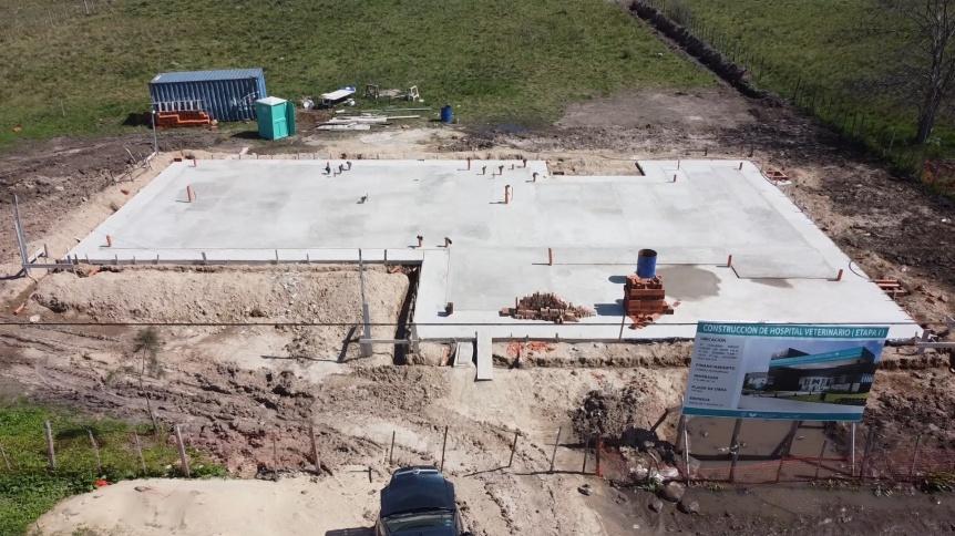 Construyen el Hospital Veterinario en Florencio Varela