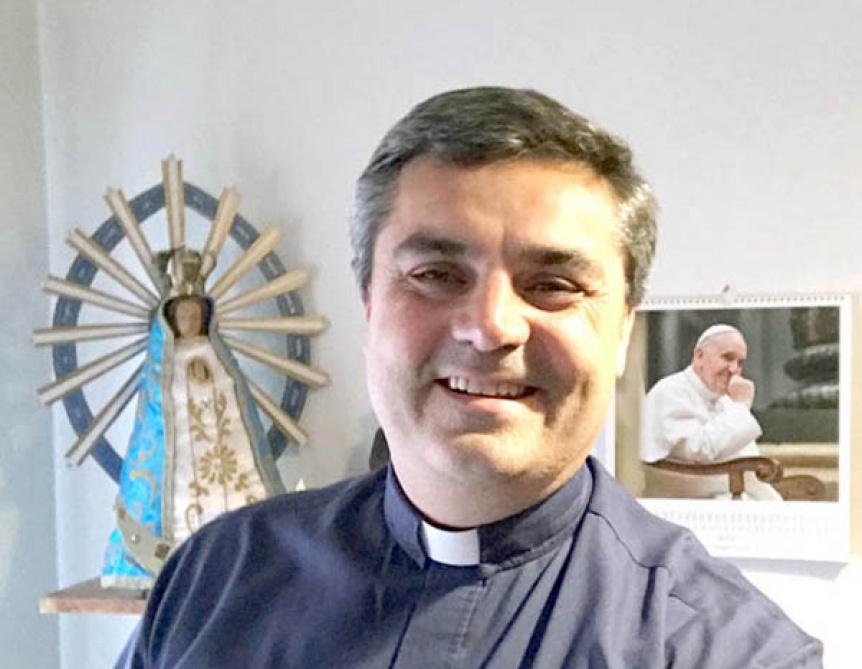 "Marcelo ""Maxi"" Margni hoy asume como Obispo de la Diócesis de Avellaneda-Lanús"