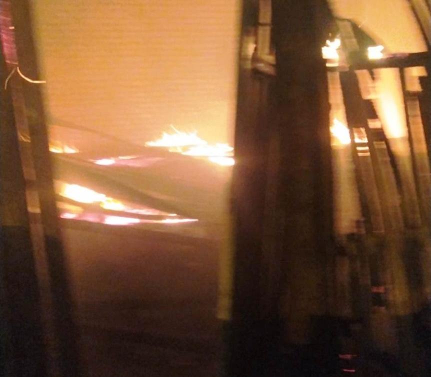 P�rdidas materiales totales por el incendio de una vivienda