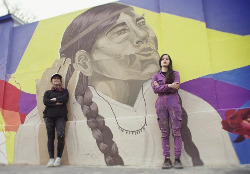 Pr�xima inauguraci�n del mural Isabel Pallamay, la primera cacique de los Kilmes