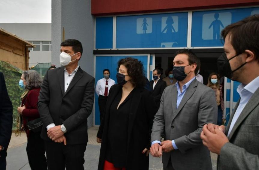Naci�n, Provincia y Municipio inauguraron ampliaci�n del Hospital El Cruce