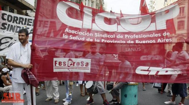 Médicos bonaerenses retoman esta semana los paros por reclamo salarial