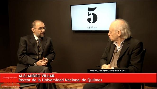 """Villar: """"La UNQ tiene el desafío de hacer la Revolución del Conocimiento"""""""