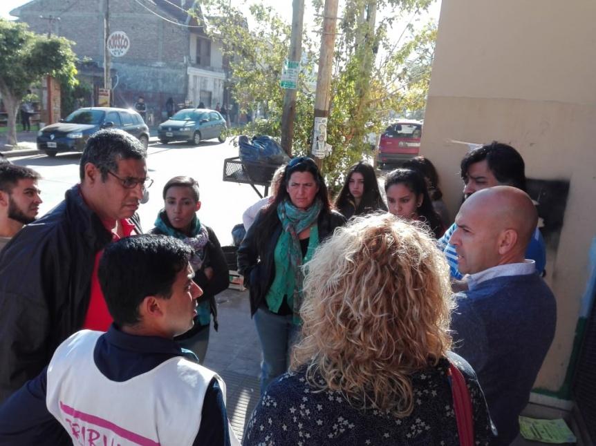 UDOCBA Quilmes acompaña el reclamo de la Escuela Secundaria Nº 37 de Solano