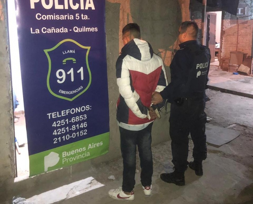 Aprehendieron a un asaltante tras varios allanamientos en La Cañada