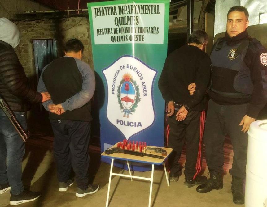 Desbaratan una banda que comet�a robos en la zona Oeste de Quilmes