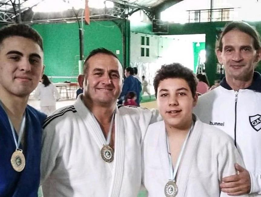 Buenas actuaciones en Judo