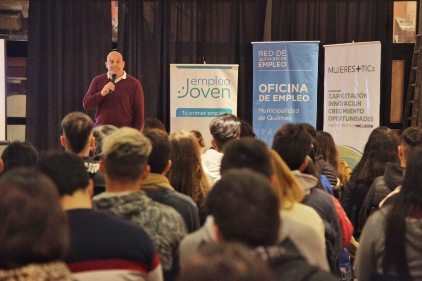 Molina abri� la jornada de capacitaci�n en mercado digital para m�s de 120 emprendedores quilme�os