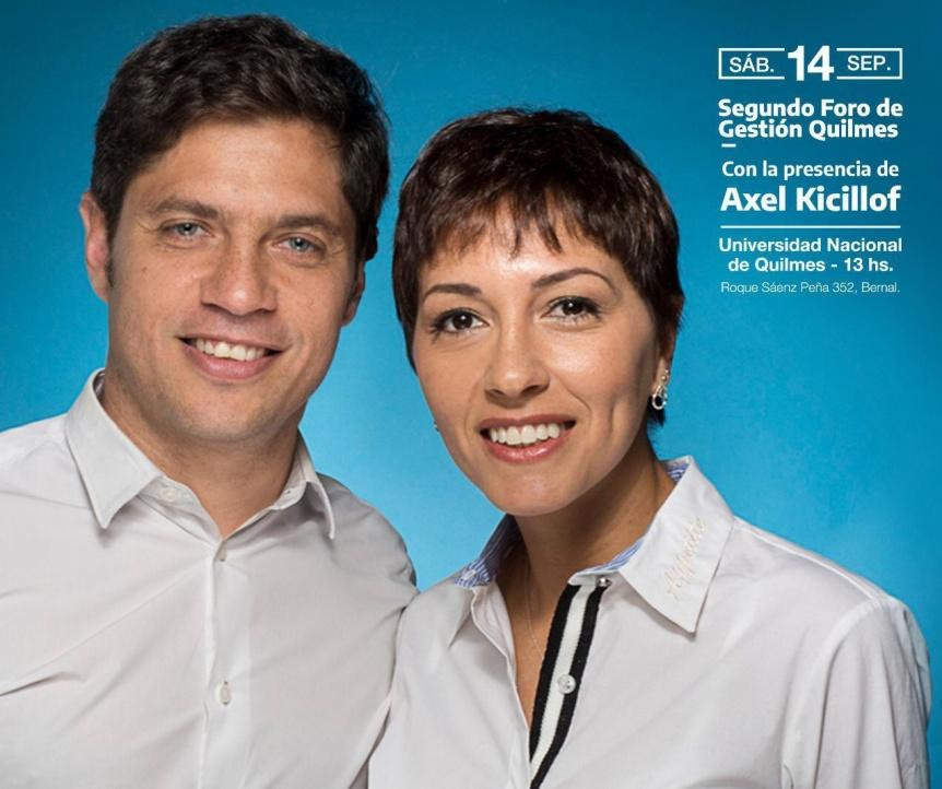 Kicillof y Mayra Mendoza presidir�n una jornada partidaria en la UNQ