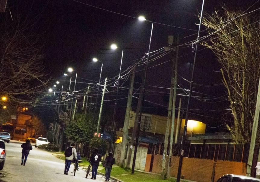 Pusieron en marcha 14 nuevos corredores escolares en Berazategui