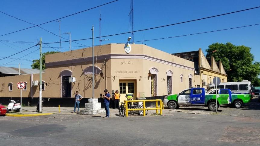 Desafectaron a  la cúpula de la Comisaría Tercera de Quilmes