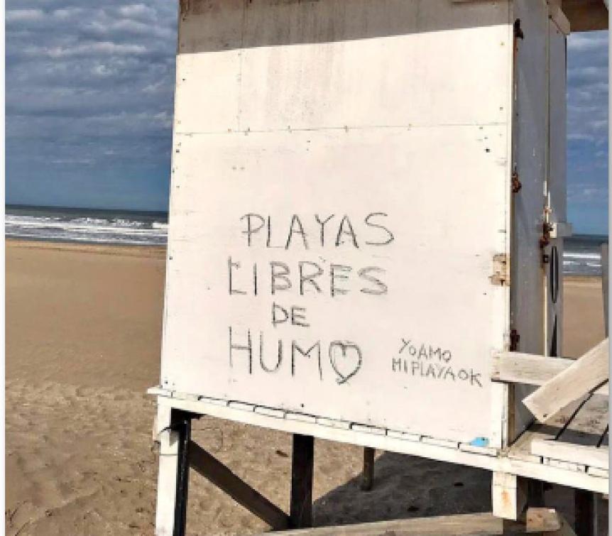 """""""Playas libres de humo"""": El cigarrillo sigue perdiendo terreno en Pinamar - Perspectiva Sur"""