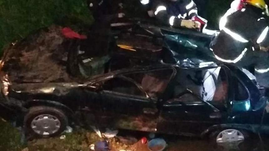 Cayó un auto al arroyo San Francisco: Cuatro heridos - Perspectiva Sur